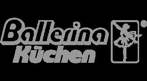 Ballerina Logo Grau